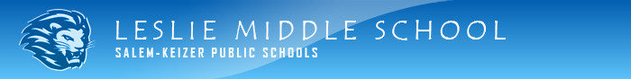 Leslie Middle School Logo